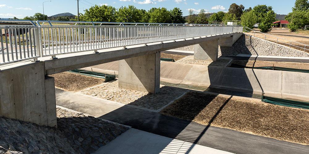 Ashley Drive Upgrade Stage 2 | Pedestrian Bridge