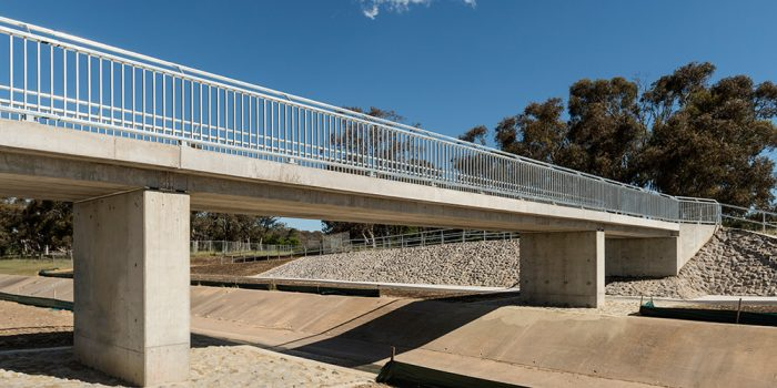 Ashley Drive Upgrade Stage 2 | Pedestrian Bridge