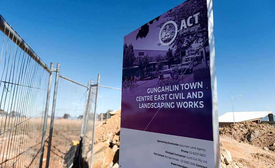 Gungahlin Town Centre East Infrastructure