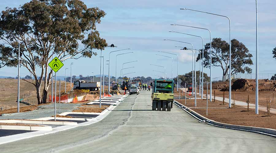 News | Gungahlin Town Centre East Infrastructure